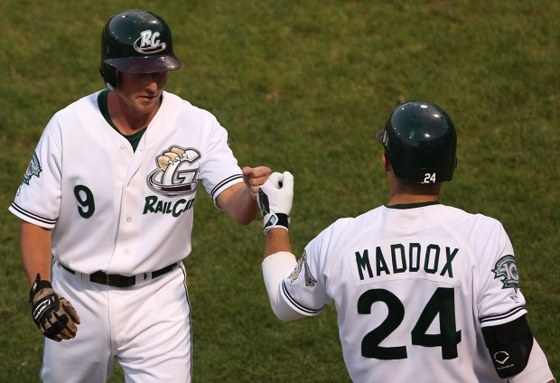 Craig Maddox Wins American Association Home Run Derby