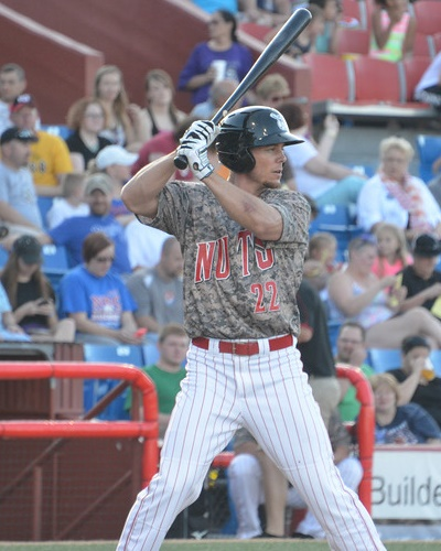 Brent Clevlen Puts on Hitting Display in 12-5 Wingnuts Win