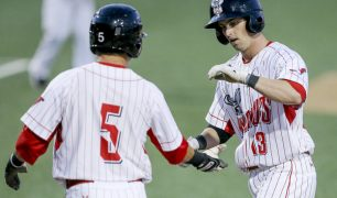 Big Inning Leads Wichita Wingnuts Over St. Paul Saints