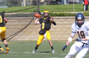 Air Marshall Mitch Hendricks Leads the Country in Passing