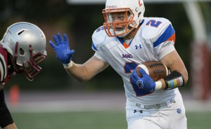 Zandy Stowell is Second in the Midwest Conference in Rushing