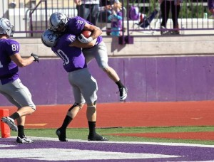 Nick Waldvogel Had Three Scores for the Tommies in 45-27 Win
