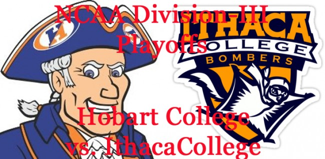 Division-III Football Playoffs: Ithaca College vs. Hobart College