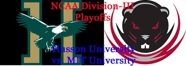 Division-III Playoffs: Husson Eagles vs. MIT Engineers