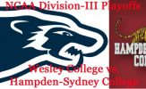 Division-III Playoffs: Wesley Wolverines vs. Hampden-Sydney Tigers