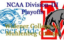 Division-III Football Playoffs: Widener College vs. Muhlenberg College