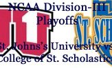 Division-III Football Playoffs: St. John's University vs. College of St. Scholastica