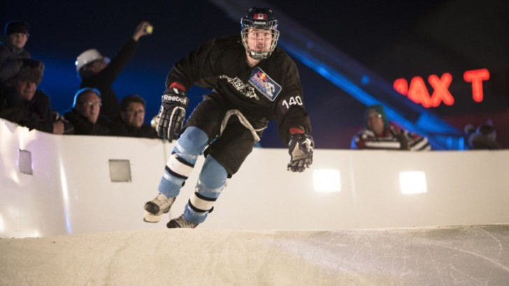 Dean Moriarity Leads International Qualifiers in Crashed Ice World Championships