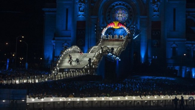 Salla Kyhala, Kyle Croxall Win 2015 Red Bull Crashed Ice World Championships