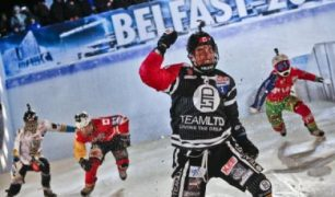 Scott Croxall Wins in Belfast for Second Red Bull Crashed Ice Title