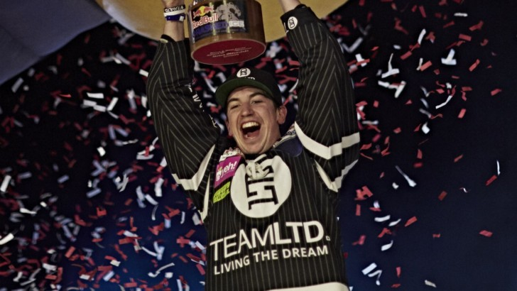 Scott Croxall Crowned 2015 Red Bull Crashed Ice Champion