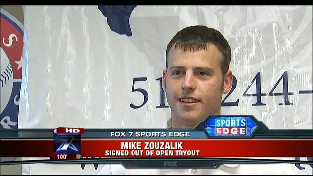St. Paul Saints Mike Zouzalik Making Unorthodox the Norm