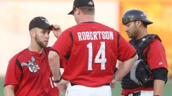 Luke Robertson Guides Wichita Wingnuts Staff to Reach Potential