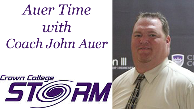Auer Time with Crown College Head Football Coach John Auer