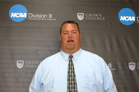 Crown College Finds that Coach John Auer Makes Intentions Reality