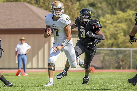 Trey Anderson Quickly Settles into Bethel University Culture, Football