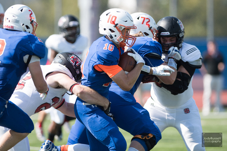 Alec Beatty Giving Macalester College Fighting Scots Best of Both Worlds