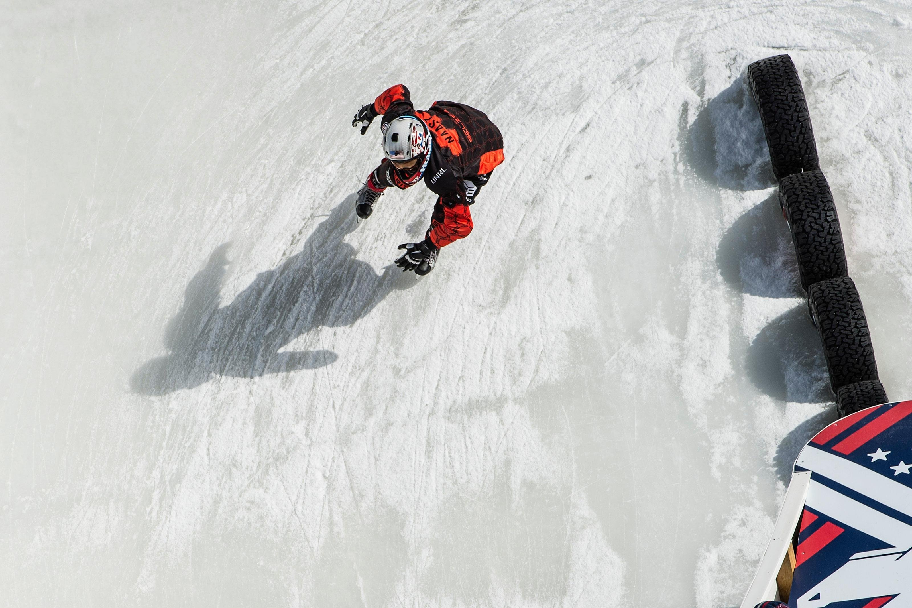 Cameron Naasz Looks to Unseat Scott Croxall as Red Bull Crashed Ice Champion