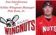 Fan Interference with Wichita Wingnuts Manager Pete Rose Jr.