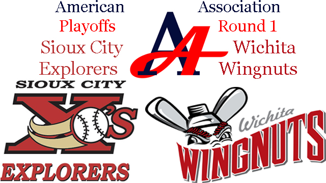 2016 American Association Playoffs: Wichita Wingnuts vs. Sioux City Explorers
