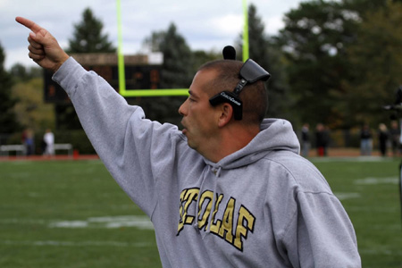 St. Olaf Football Coach Craig Stern Proves to Be Man of Word