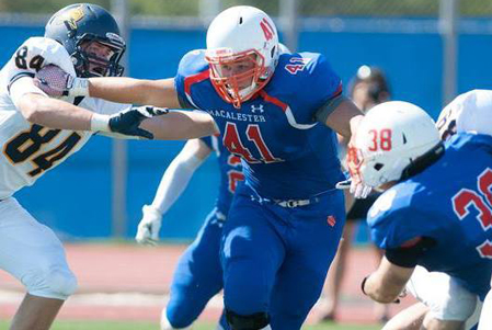 Glen Hartford Defining Leadership for Macalester Fighting Scots