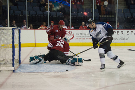 Logan Nelson Brings the Joy of Hockey to Wichita Thunder