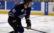 Thunder D Martin Nemcik Letting Play on the Ice Do His Talking