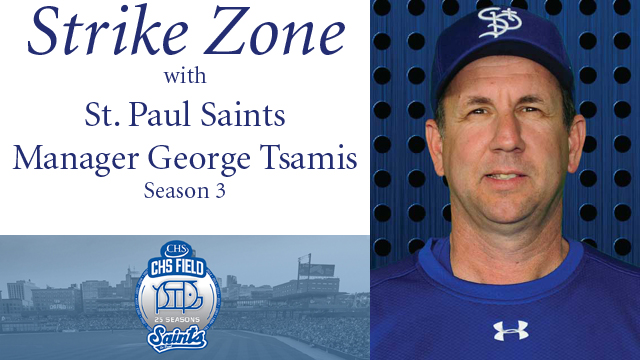 Strike Zone with St. Paul Saints Manager George Tsamis – Season 3
