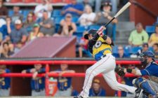 Martin Medina Delivers Big Blow in 6-Run 8th to Give Wingnuts Wild 13-10 Win