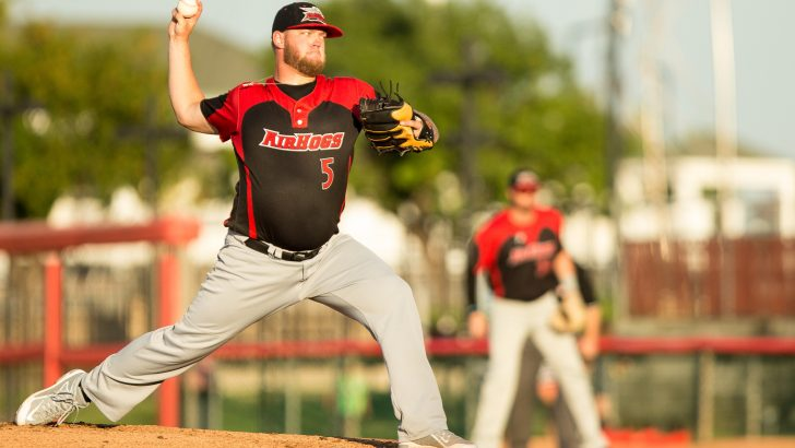 Jared Mortensen Clamps Down Wingnuts in AirHogs 4-3 Victory