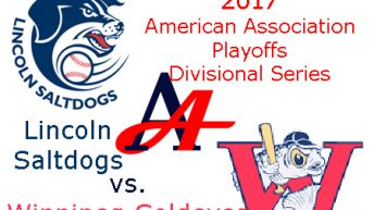 2017 American Association Playoffs: Lincoln Saltdogs vs. Winnipeg Goldeyes