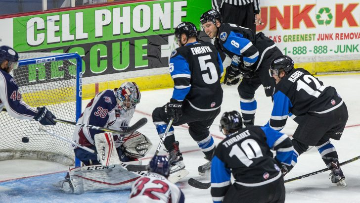 Joel Rumpel Keeps Thunder Undefeated in 3-1 Victory over Tulsa