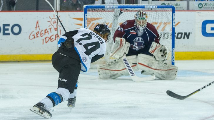 Garrett Ladd Nets Two in Tulsa Oilers 4-2 Victory over Thunder