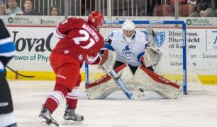 Zach Hall's Late Goal Helps Continue Thunder Doldrums, 3-2