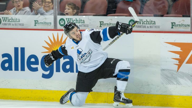 Nick Bligh Leads Newcomers as Wichita Thunder Win, 6-3