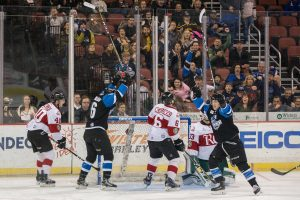 Ralph Cuddemi Scores Two to Lead Thunder to 3-1 Win