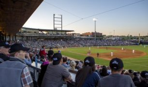St. Paul Saints Infield Ready to Be Glorified
