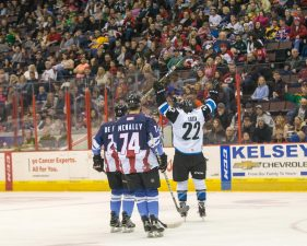 Justin Danforth Gives Cyclones 5-4 Victory in Overtime