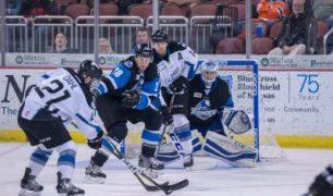 Van Stralen, Cuddemi Help End Thunder Winless Skid, 2-1