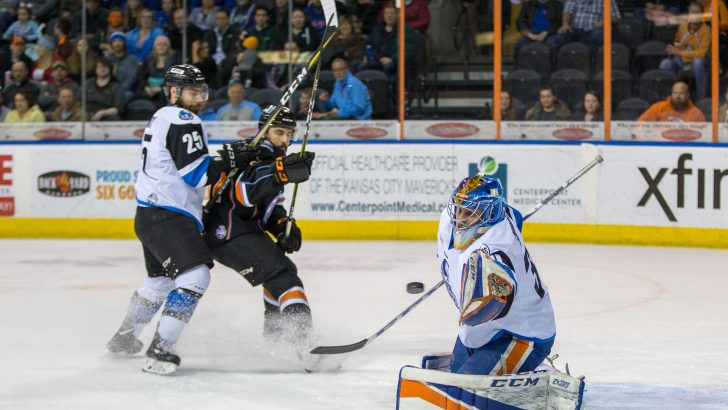 Adam Carlson Silences the Thunder; Mavericks Win 3-1