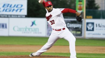 Victor Capellan Ready to Star in Winnipeg Goldeyes Bullpen Again