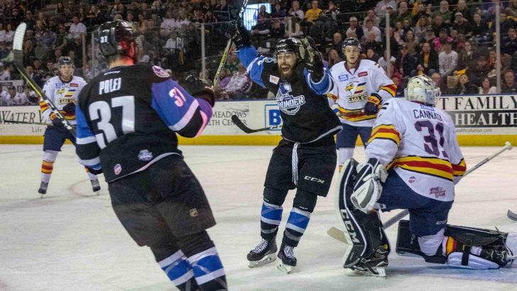 Dyson Stevenson Helps Thunder Stave-Off Elimination, 6-0