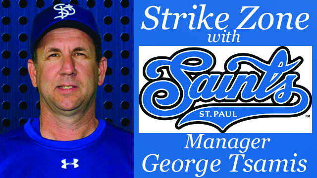 Strike Zone with St. Paul Saints Manager George Tsamis – Season 4