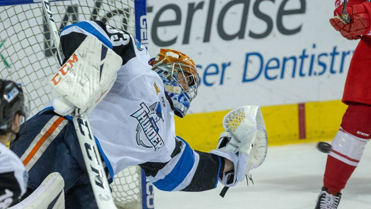 Zach Pochiro Nets Four to Send Thunder to Sixth Straight Loss