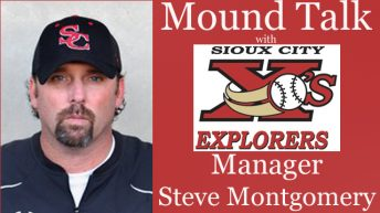 Mound Talk with Sioux City Explorers Manager Steve Montgomery – Season 3