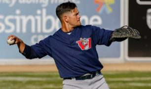 Abercrombie, Garcia Power Goldeyes to 6-2 Win