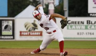 James Harris Helps Lead Goldeyes to Victory