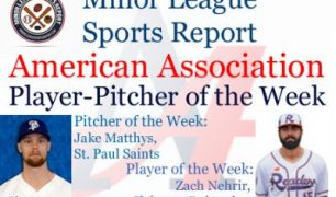 Zach Nehrir, Jake Matthys Receive Week 1 American Association Honors