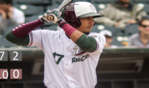 Trevor Lubking Dominates, RailCats Crush Explorers, 10-1